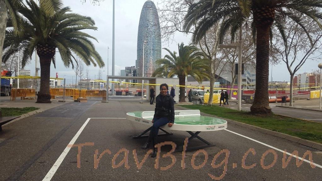 Torre Agbar- Avinguda Diagonal-Barcelona