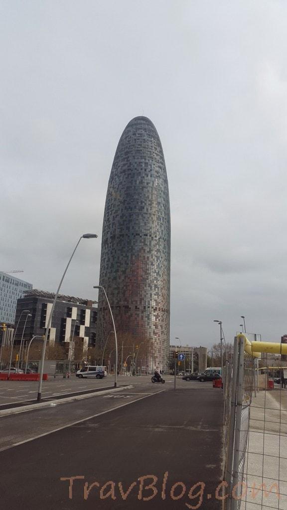 Torre Agbar- Avinguda Diagonal- Barcelona