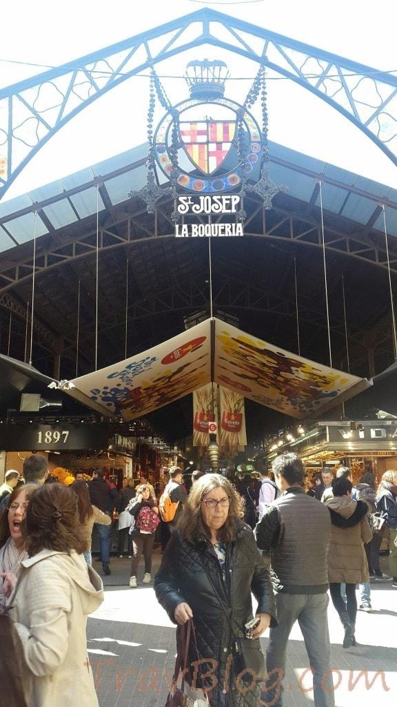 Les Rambles- La Boqueria- Barcelona