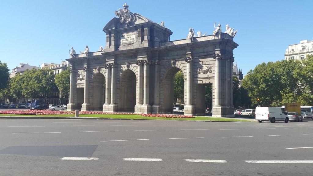The Alcala Gate/Puerta de Alcala