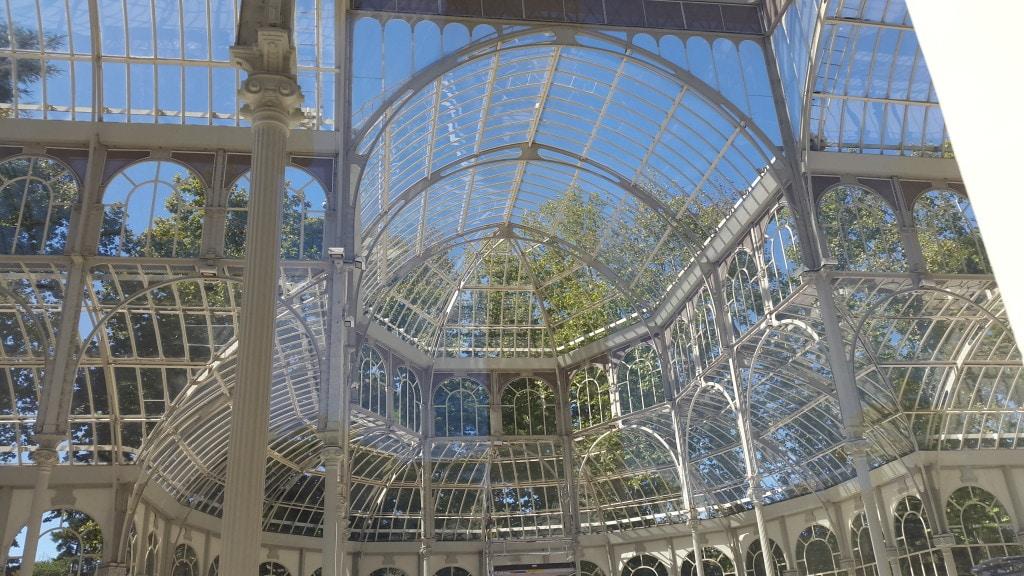 Palacio de Cristal, El Retiro Park, Madrid