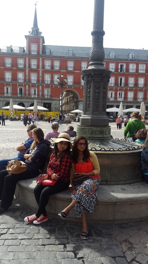 Plaza Mayor- Madrid