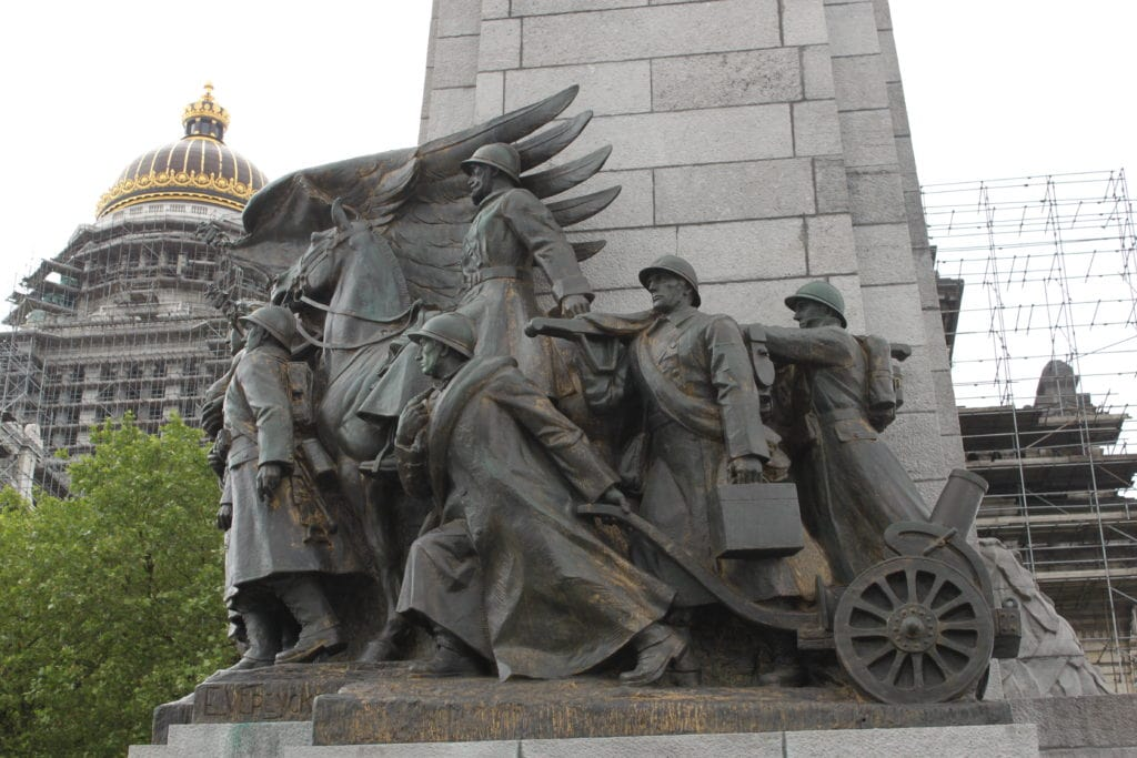 The Infantry Memorial of Brussels, Dome of Palace of Justice, Palais de justice de Bruxelles