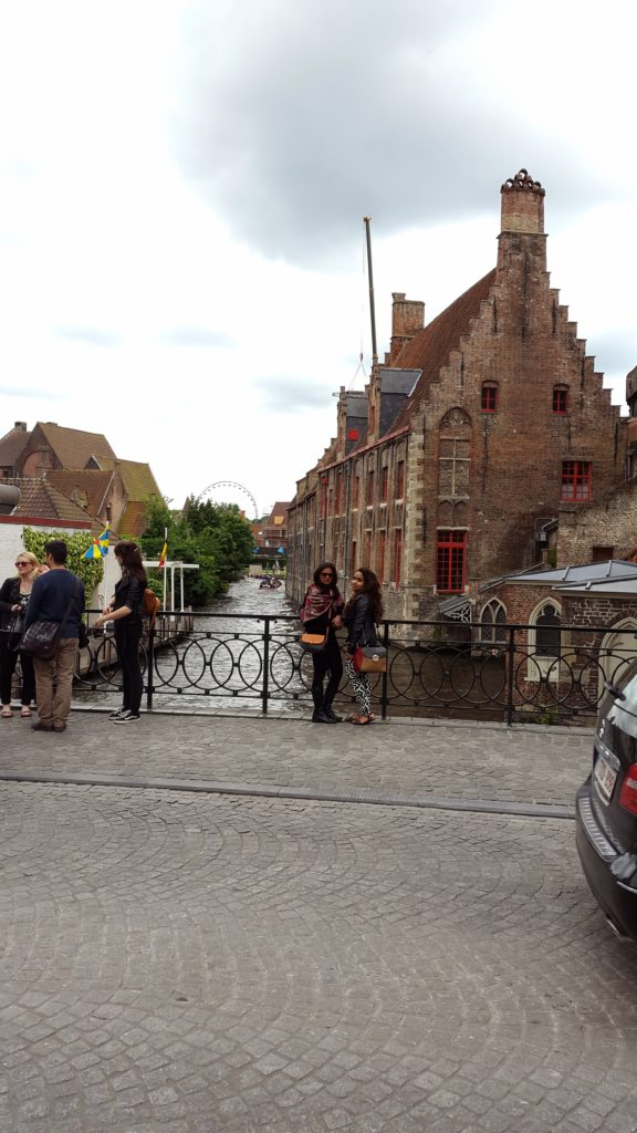 canals and cobbles streets, bruges
