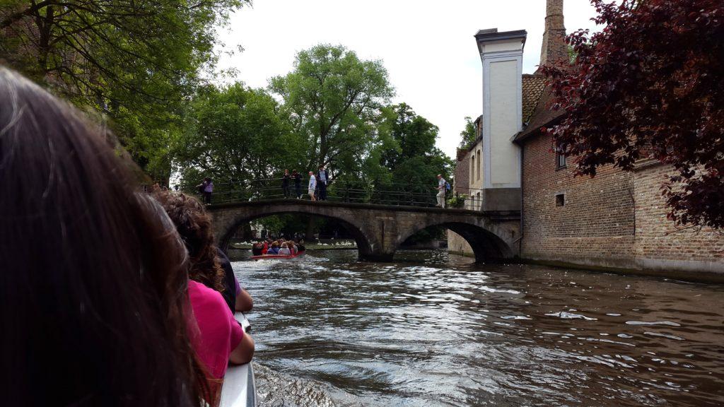 Rozenhoedkaai canal boat ride, bruges