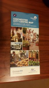 Chichester city map