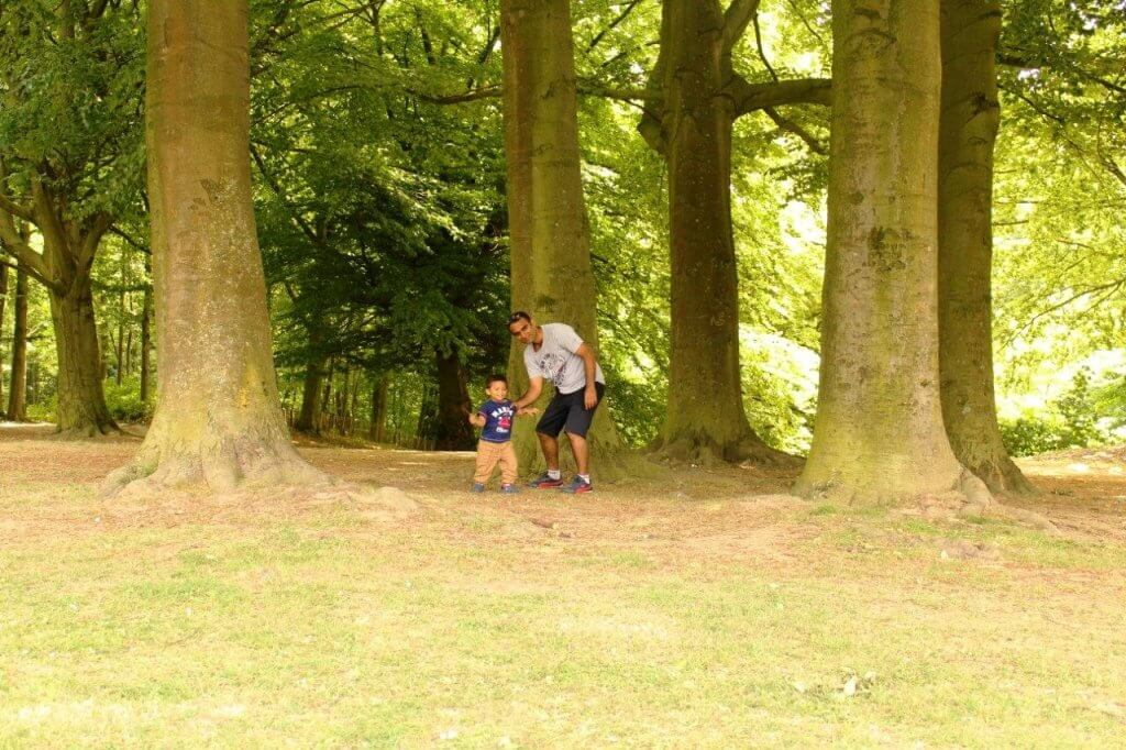 Brussels Parc deOssenghem Laeken