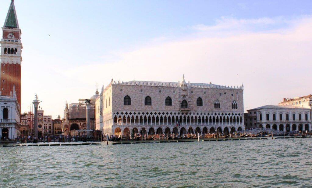 Venice Doges Palace-Clock Tower